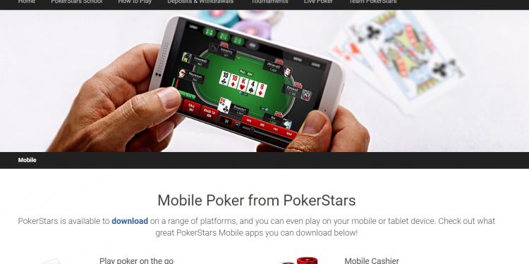 Мобильный ПокерСтарс