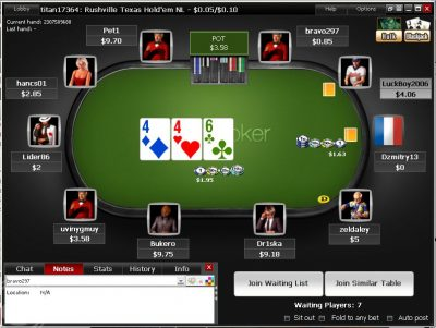 Турниры на Титан Покер